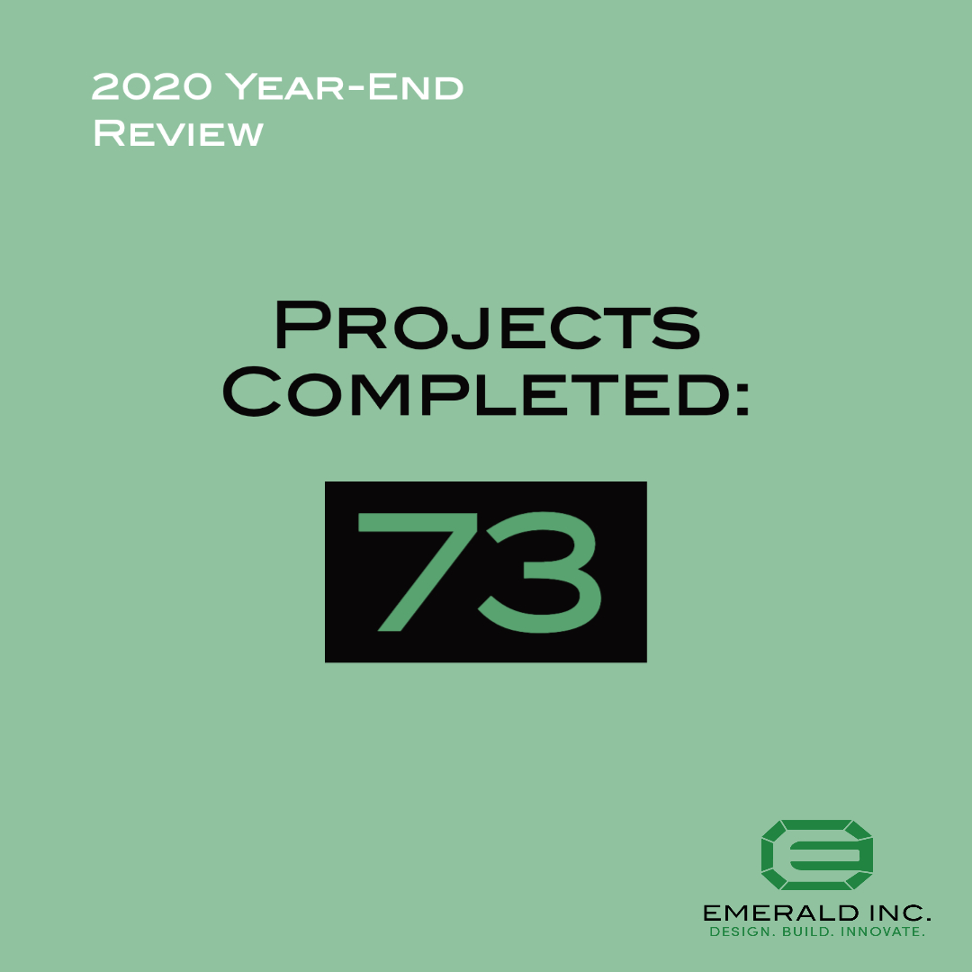 2020 Projects Completed