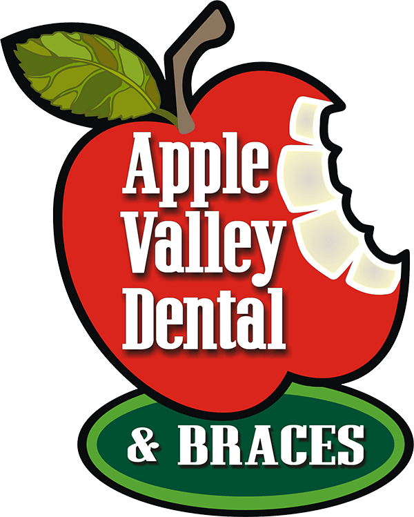 apple valley dental and braces logo