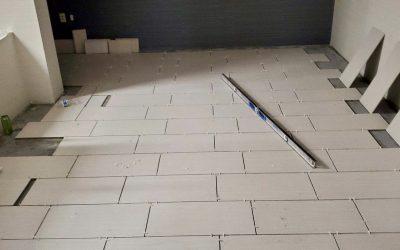 Phase 4 Carpet & Tile work at EMC Insurance (Peoria)