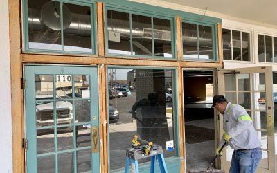 Demolition at Thrift Store (Mesa)