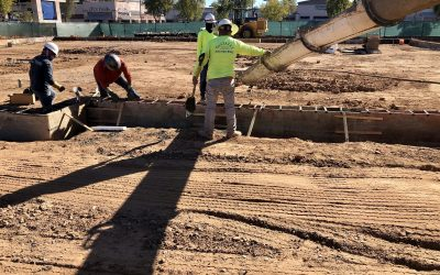 Stem Wall Poured at Apple Valley Dental & Braces (Mesa)