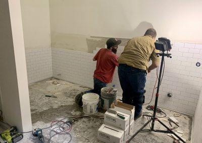 Fusion Power Bathroom Tile