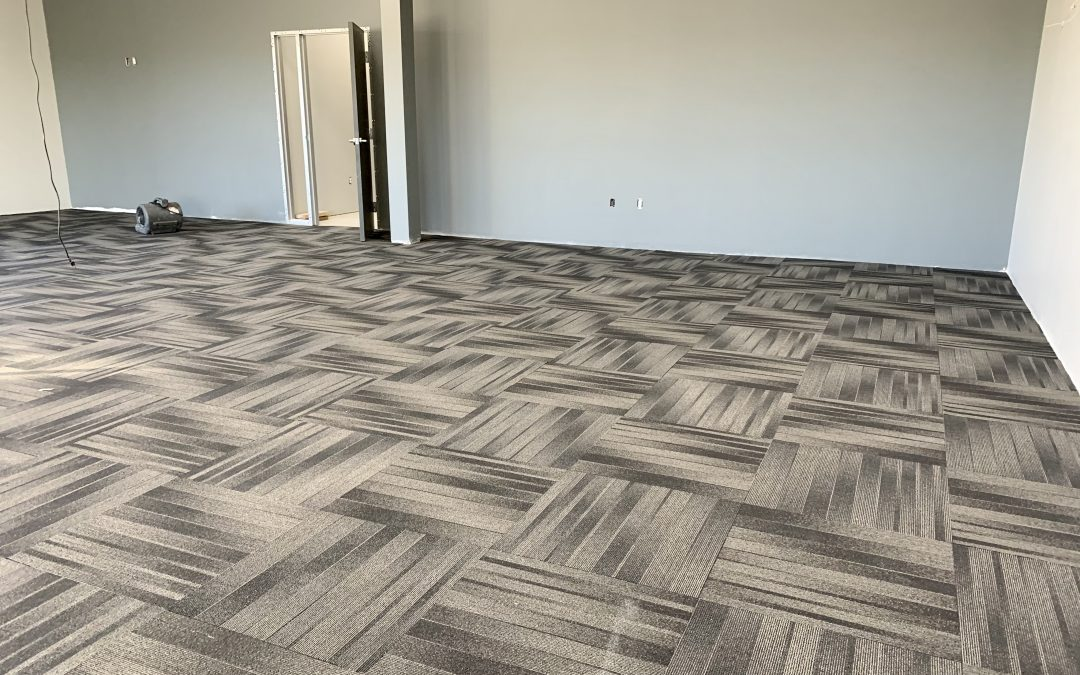 Restroom Fixtures & Partitions, Carpet Complete at Fusion Power (Chandler)