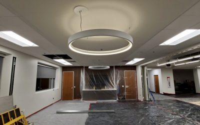 Optical Office Tenant Improvement Progress (Phoenix)