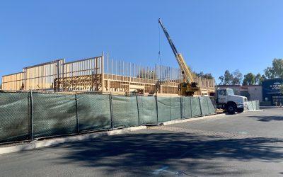 Apple Valley Dental & Braces Framing Progress Update