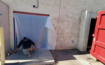 Asbestos Remediation at High Grade Labs (Phoenix)