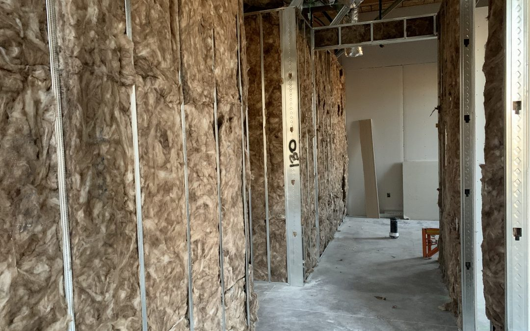 Interior Walls Insulated At City2Shore Real Estate (Gilbert)
