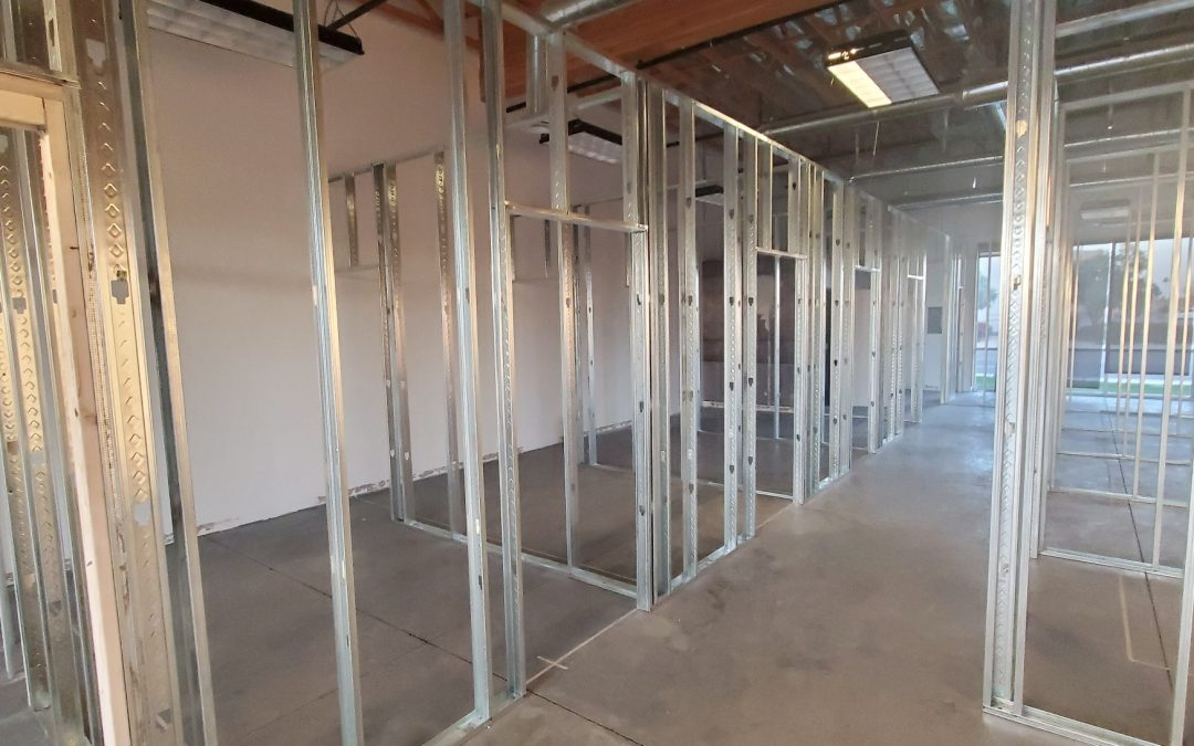 Framing Near Completion at Modern Chiro