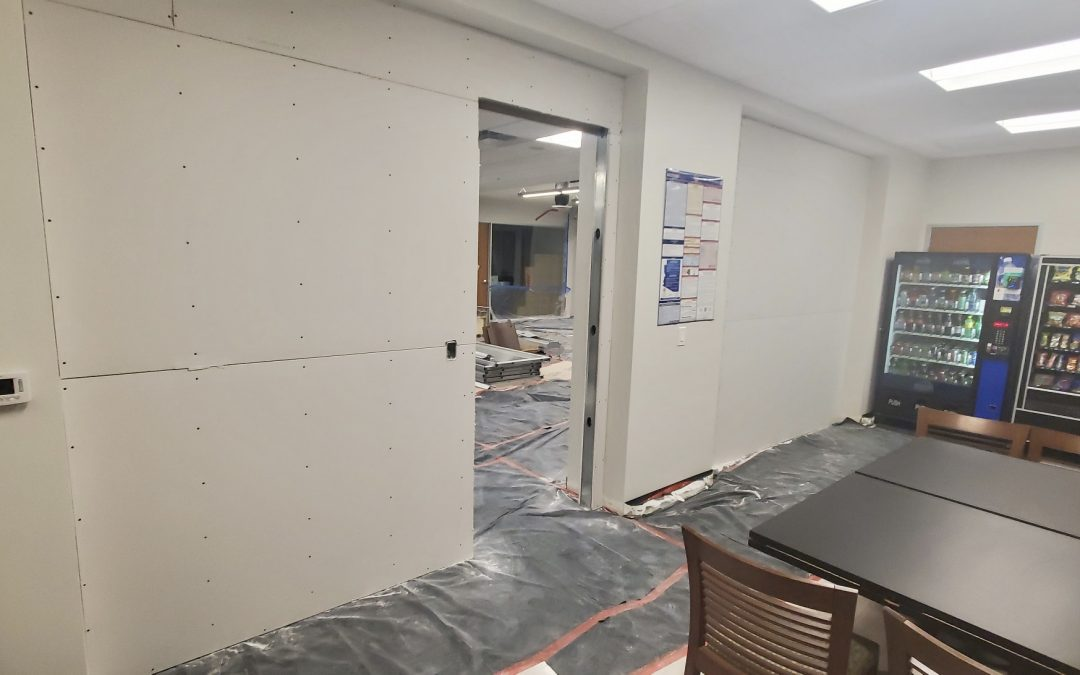 Drywall at Optical Office Remodel (Phoenix)