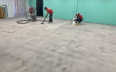 Flooring Prep at Highgrade Labs (Phoenix)