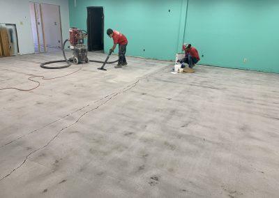 Highgrade Labs Floor Prep