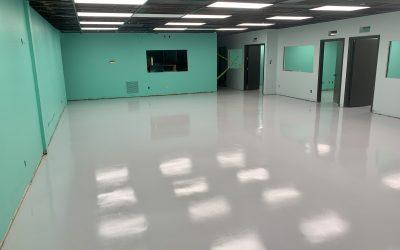 New Epoxy Floor at High Grade Labs (Phoenix)