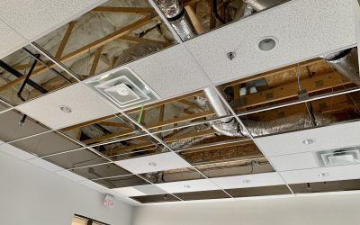 Ceiling Tiles Installed at City2Shore Real Estate (Gilbert)