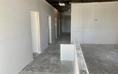 Drywall at Modern Chiropractic Company (Chandler)