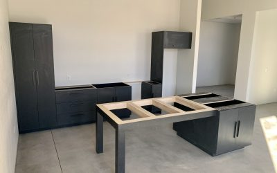 Cabinets Installed at City2Shore Real Estate (Gilbert)