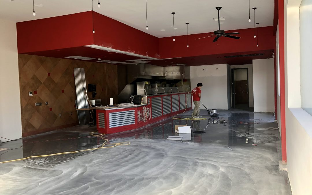 Floors and Exterior at Boston Market (Tempe)