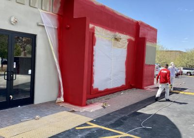 Boston Market Exterior Paint