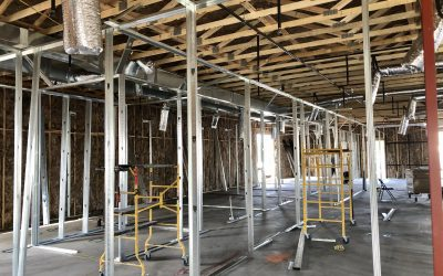 Interior Framing & Tie-In at SRP Stubs at Apple Valley Dental & Braces (Mesa)