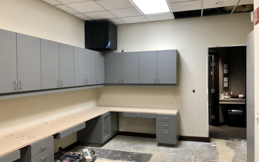 New Cabinets & Sub Decks at Superstition Springs Endodontics (Mesa)