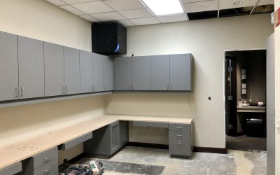 New Cabinets & Sub Decks at Superstition Springs Endodontics (Mesa)