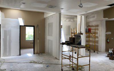 Drywall Repair at Barnet Dulaney Perkins Eye Center (Lakeside)