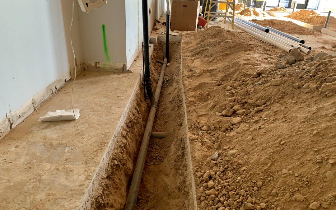 Underground Plumbing at Bruco Taproom (Queen Creek)