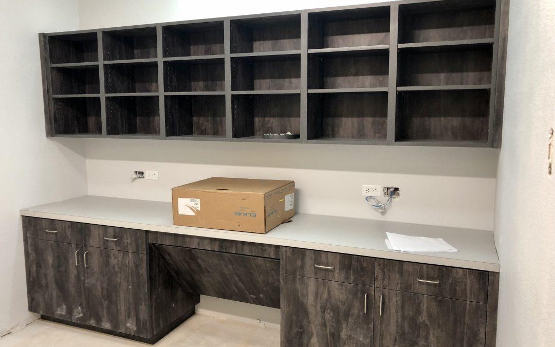 New Cabinets at Barnet Dulaney Perkins Eye Center (Lakeside)