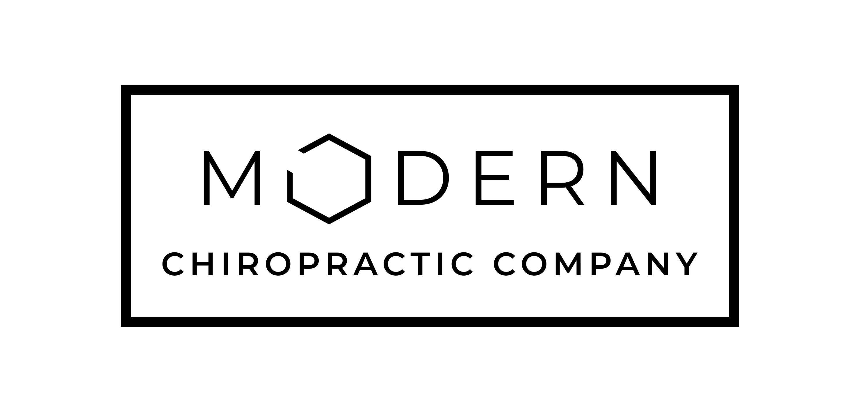 Modern Chiropractic Company Logo