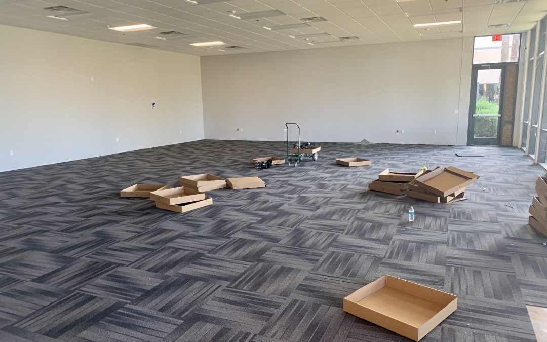 New Carpet and Tile at Skin Script (Chandler)