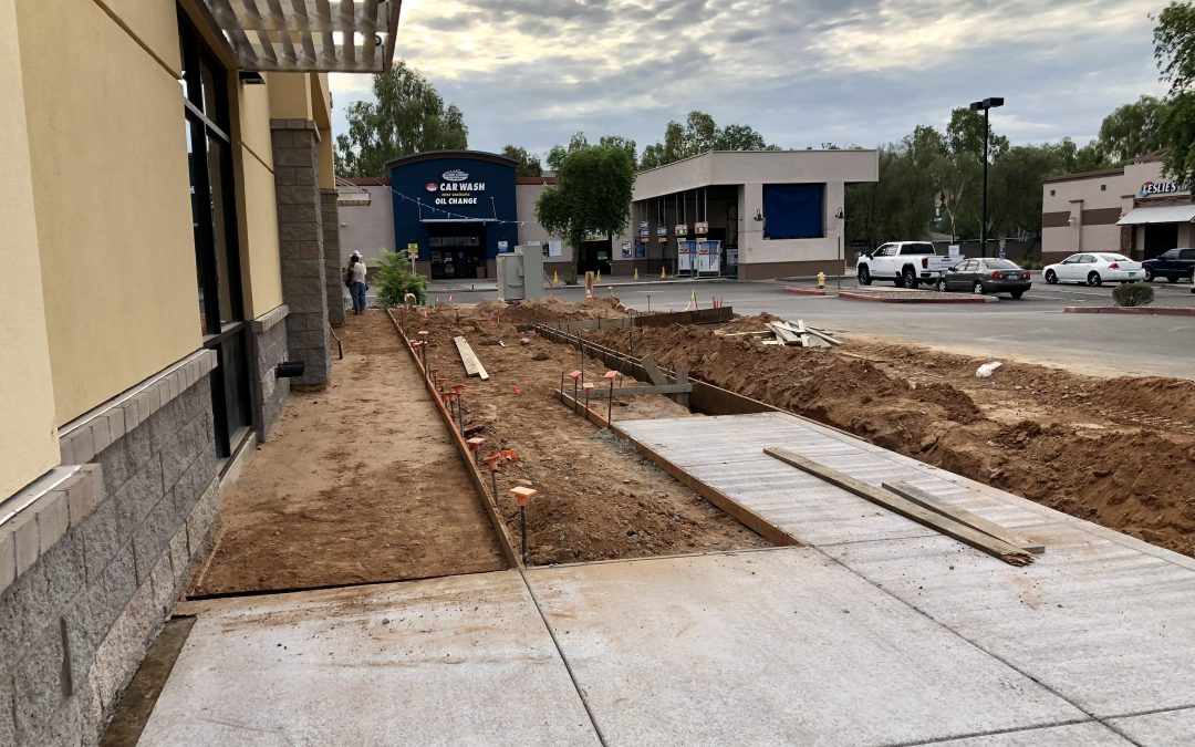 Pavement & Sidewalks at Apple Valley Dental & Braces (Mesa)