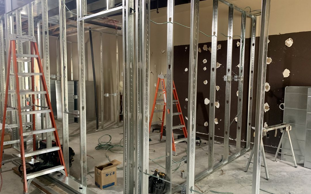 Framing & Electrical at Advanced Hearing Group (Scottsdale)