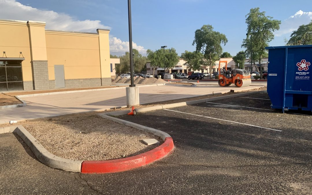 Apple Valley Dental & Braces is Ready for Paving (Mesa)