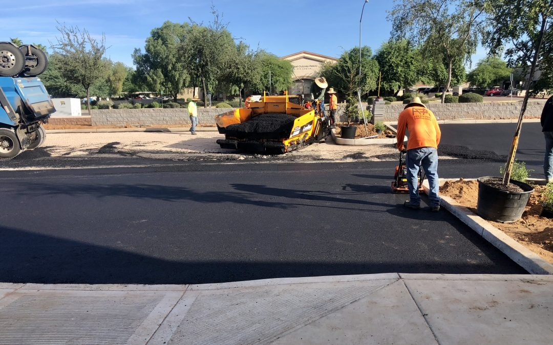 Paving and Landscaping at Apple Valley Dental & Braces (Mesa)