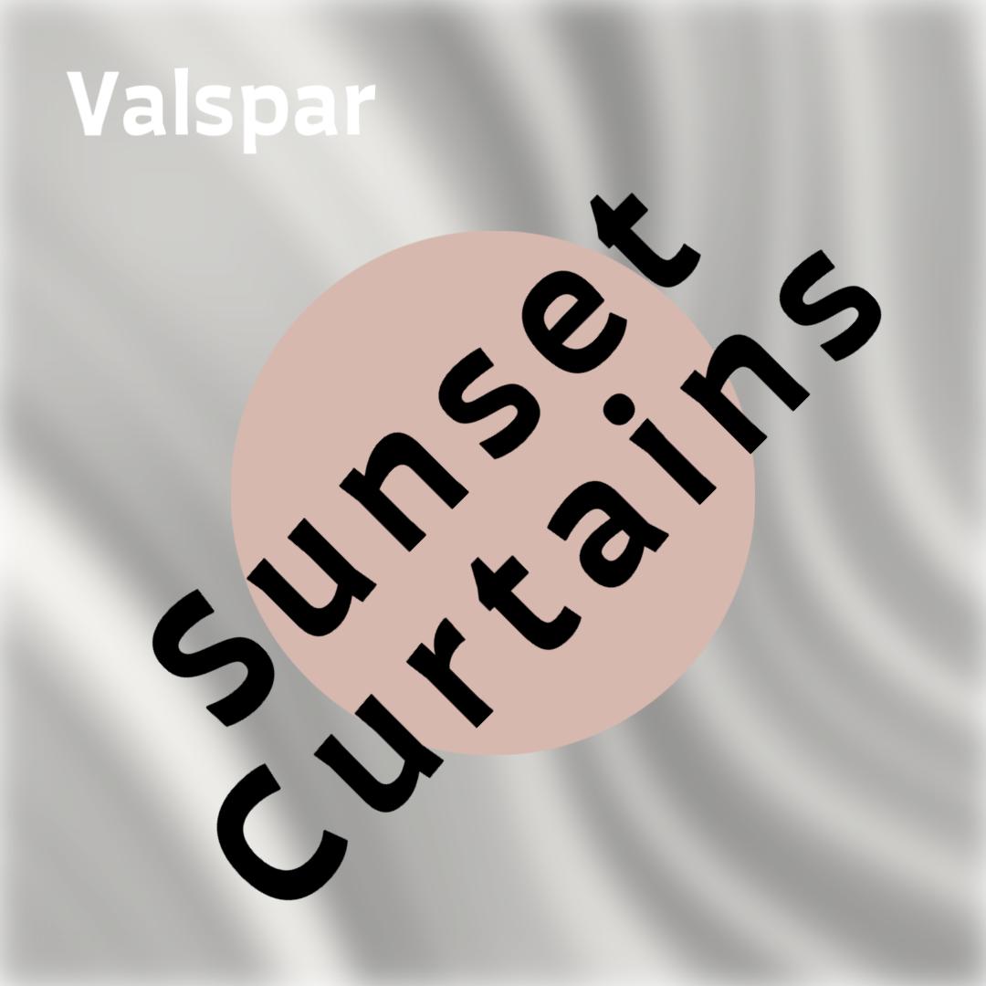 Valspar Sunset Curtains