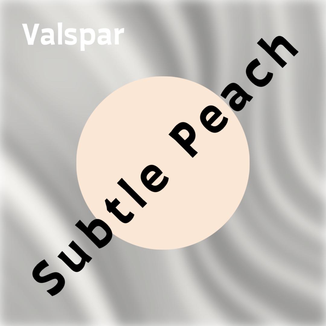 Valspar Subtle Peach